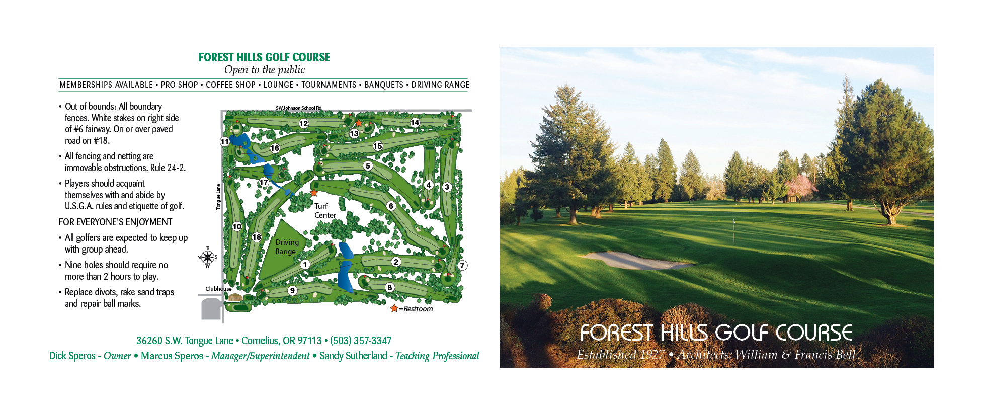 forest hills GC OR 8.302